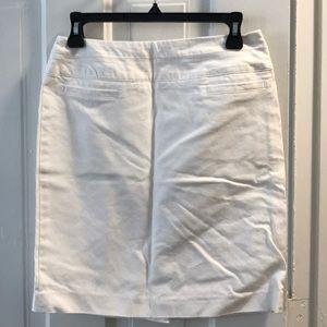 Kenar. White pencil skirt. Size 2